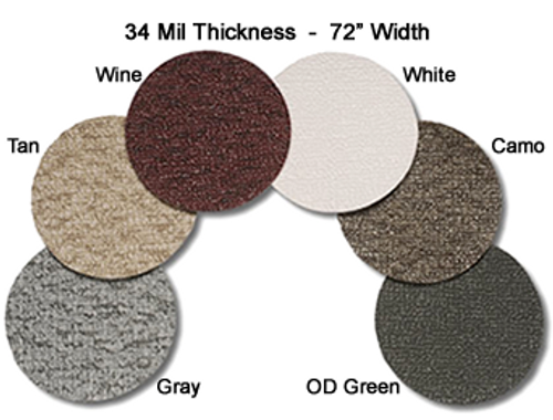 Samples of MariDeck Marine Vinyl Flooring