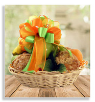 Fresh fruit and muffins Basket