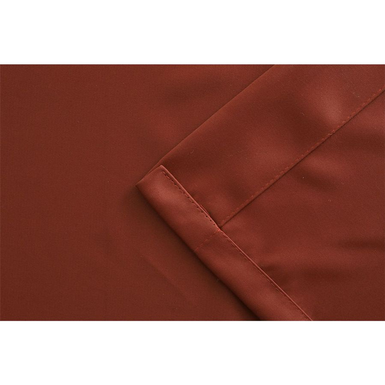 Blackout Room Divider Curtain Panel Thermal Insulated  Burgundy Color