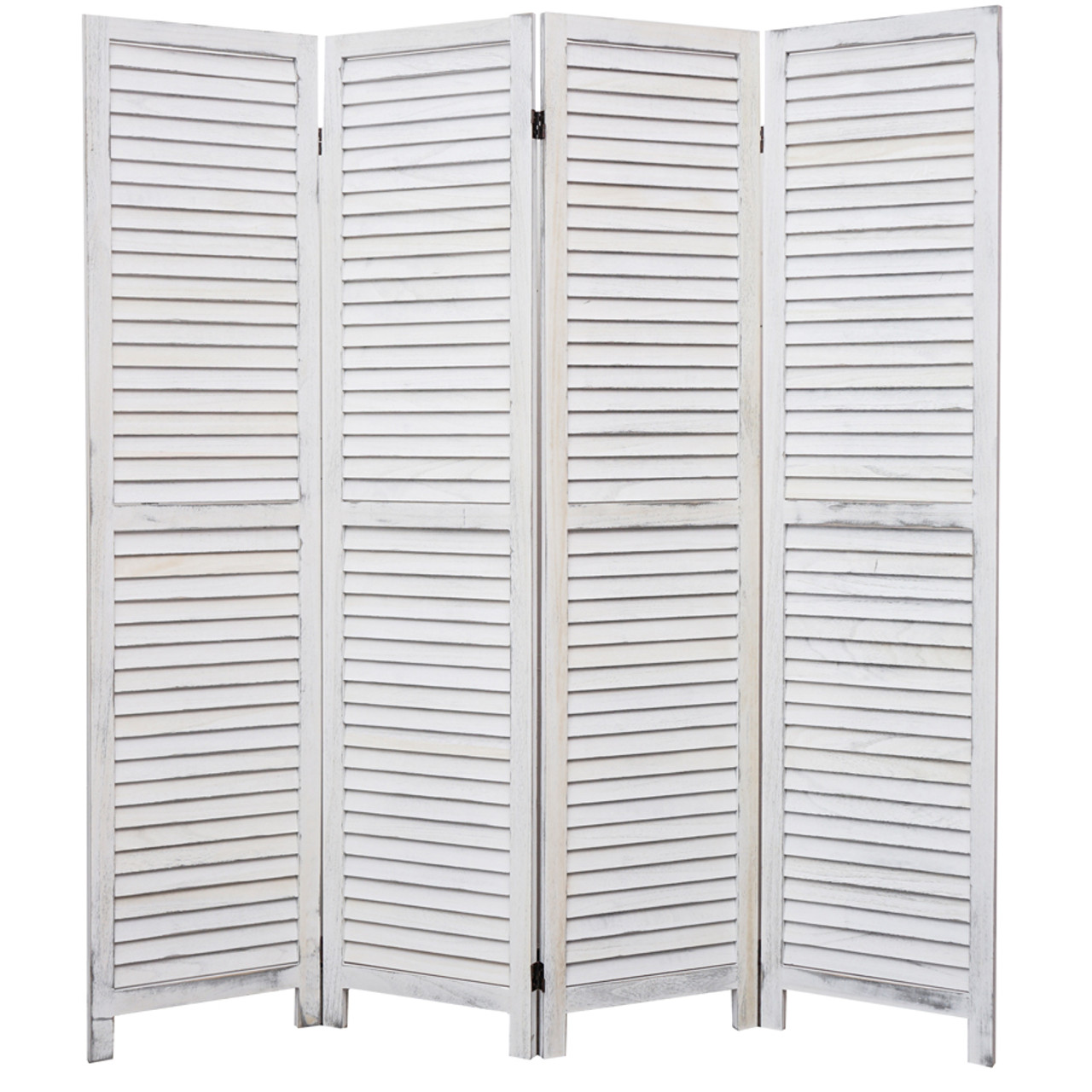 4, 6, 8 Panel Room Divider Full Length Wood Shutters White in USA, California, New York, New York City, Los Angeles, San Francisco, Pennsylvania, Washington DC, Virginia, Maryland