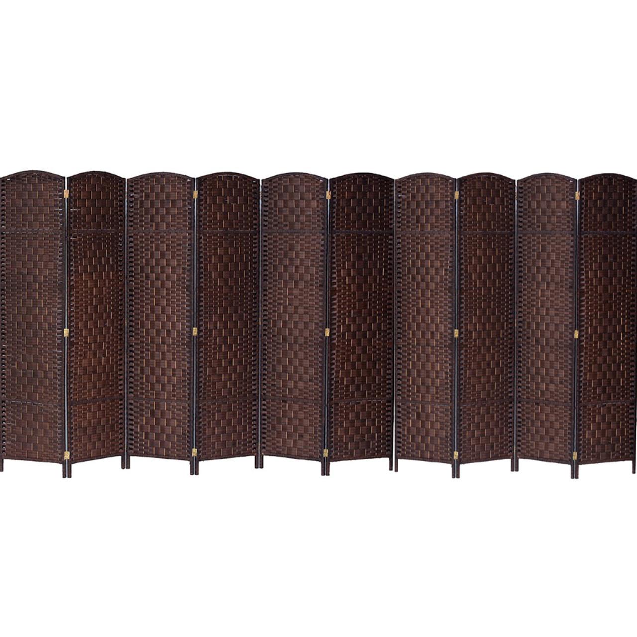 10 Panels Room Divider, Privacy Partition Screen Bamboo Woven Panel in USA, California, New York, New York City, Los Angeles, San Francisco, Pennsylvania, Washington DC, Virginia and Maryland