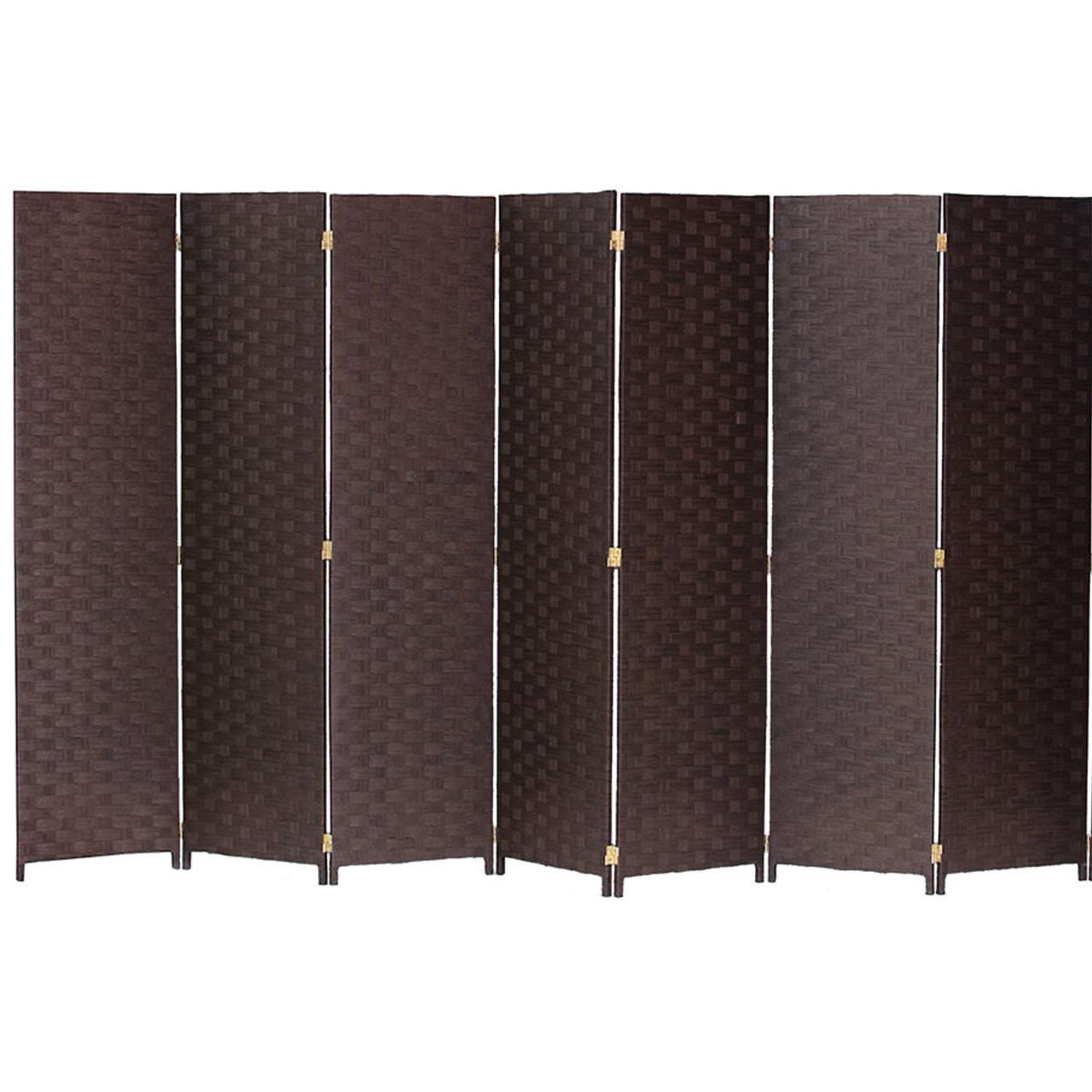 Bamboo Woven Panel Room Divider, Privacy Partition Screen, 7 Panels in USA, California, New York, New York City, Los Angeles, San Francisco, Pennsylvania, Washington DC, Virginia, MD