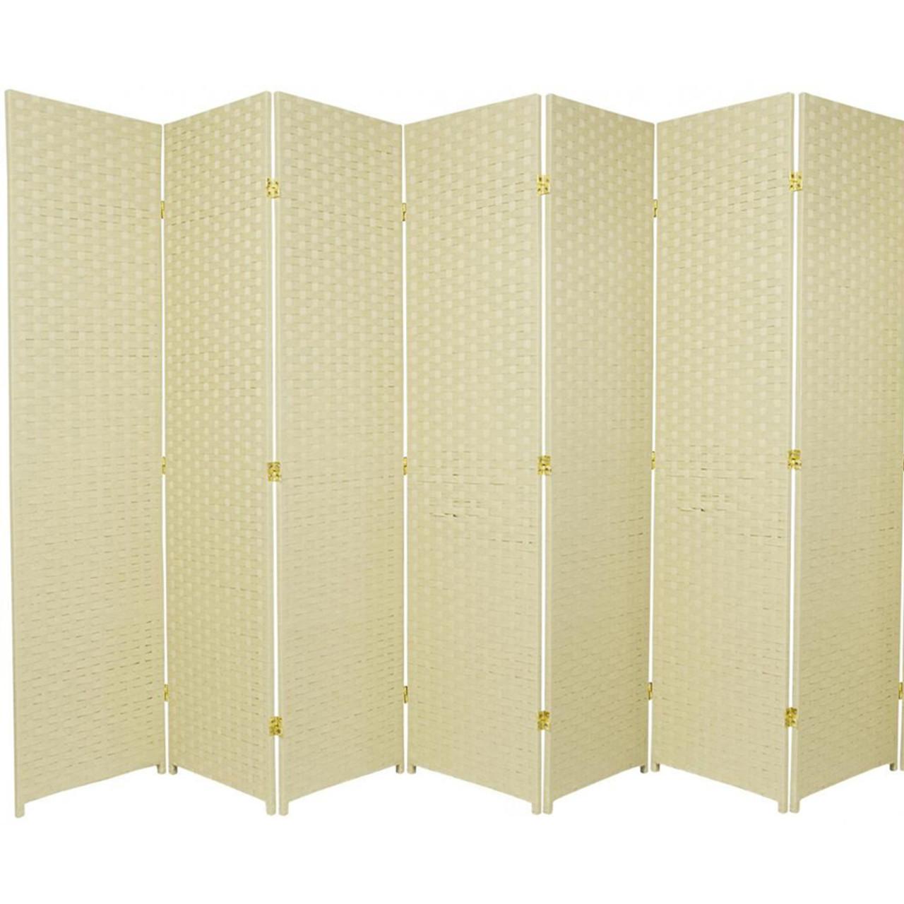 Bamboo Woven Panel Room Divider, Privacy Partition Screen, 7 Panels in USA, California, New York, NY City, Los Angeles, San Francisco, Pennsylvania, Washington DC, Virginia, MD
