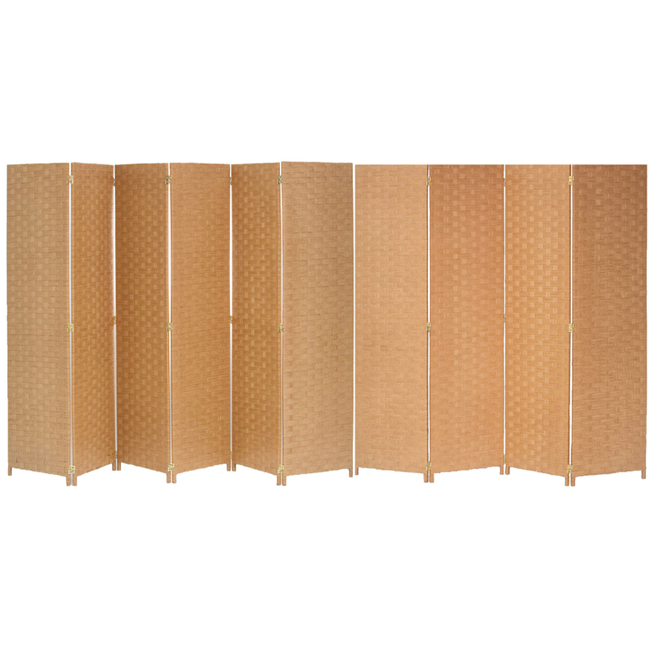 10 Panel Room Divider Privacy Screen, Bamboo Woven Panel in USA, California, New York, New York City, Los Angeles, San Francisco, Pennsylvania, Washington DC, Virginia, Maryland