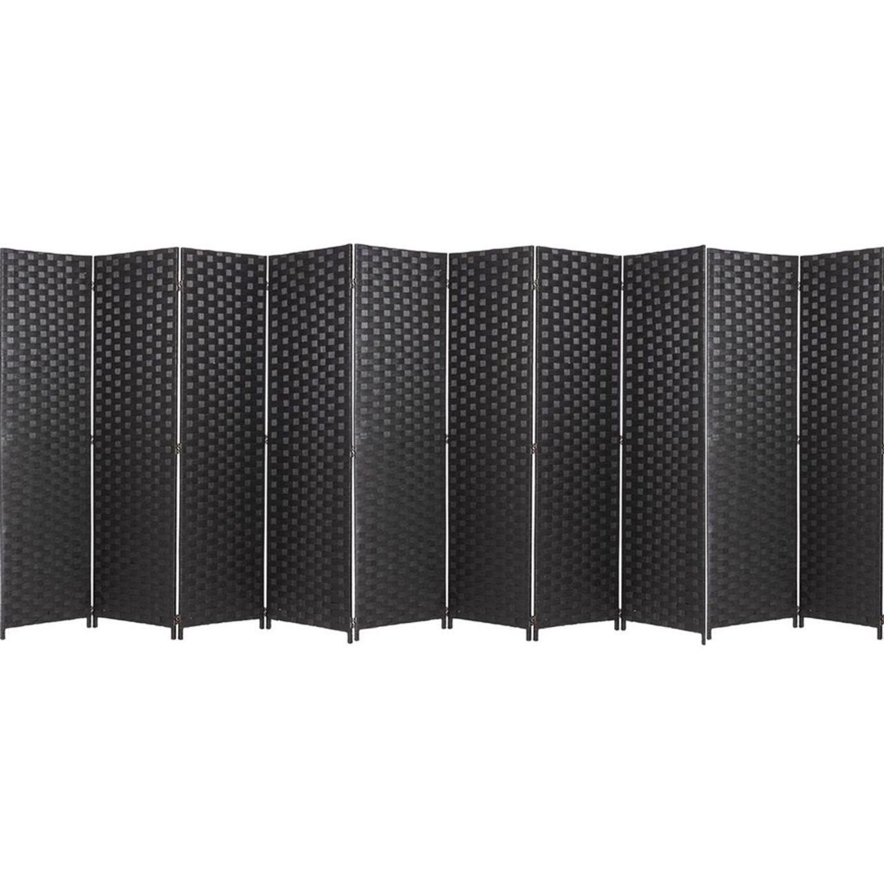10 Panel Room Divider Privacy Screen, Bamboo Woven Panel in USA, California, New York, NY City, Los Angeles, San Francisco, Pennsylvania, Washington DC, Virginia, Maryland