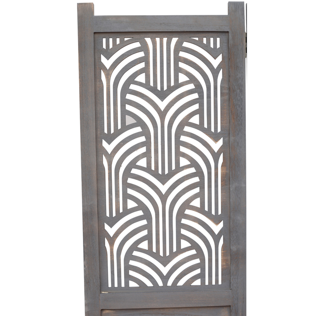 3 Panel Rustic solid wood with decorative detail room divider in USA, California, NY, New York City, Los Angeles, San Francisco, Pennsylvania, Washington DC, Virginia, MD