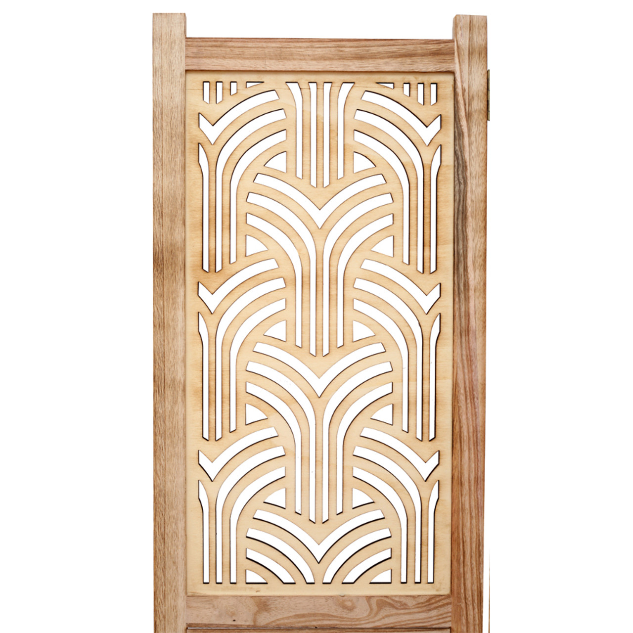 3 Panel Rustic solid wood with decorative detail room divider in USA, CA, NY, New York City, Los Angeles, San Francisco, Pennsylvania, Washington DC, Virginia, Maryland