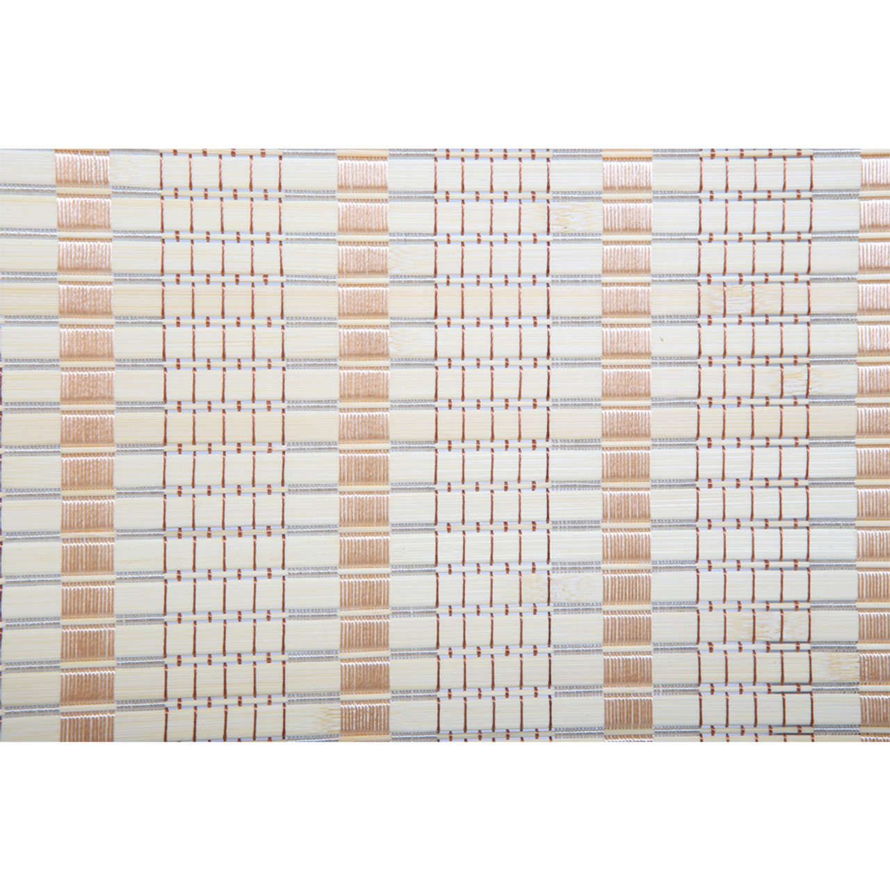 8 Panel Natural, Brown, Or Black Color Wood and Bamboo Weave Room Divider