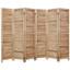 4, 6, 8 Panel Room Divider Full Length Wood Shutters Natural in USA, California, New York, New York City, Los Angeles, San Francisco, Pennsylvania, Washington DC, Virginia and Maryland