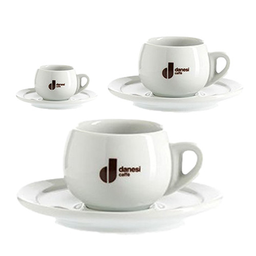 Danesi Caffe Latte Cup Set by Italian Bean Delight