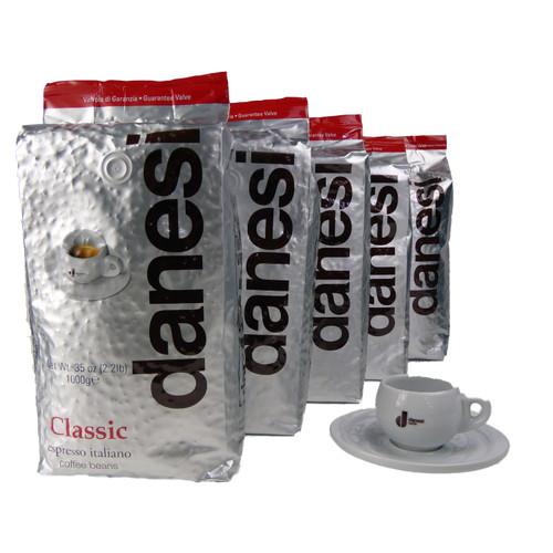 Danesi Caffe Classic Espresso Coffee Beans