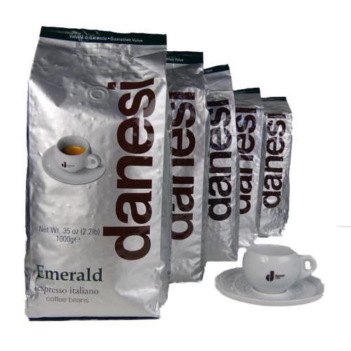 Danesi Caffe Emerald Espresso Coffee Beans
