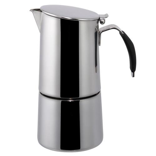 Coffee Espresso Maker Moka Pot Ilsa Omnia Stovetop Express SS Induction