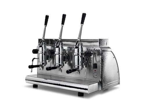 3-group Lever Espresso Coffee Machine Victoria Arduino Athena Chrome