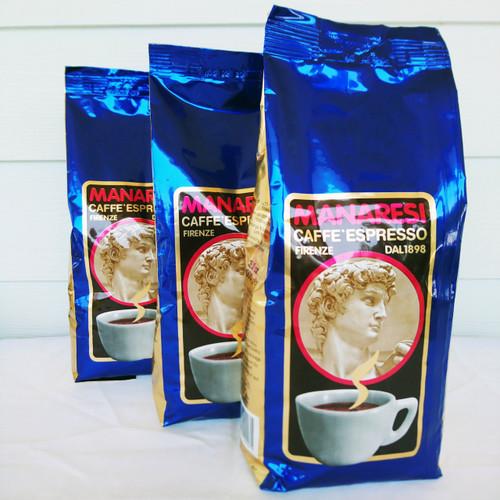 Il Caffe Manaresi Blu 100% Arabica