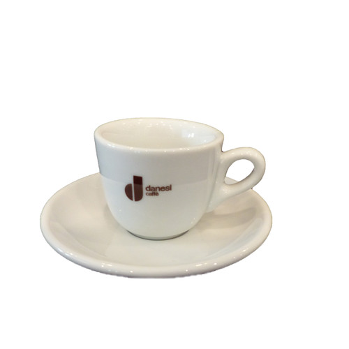 Danesi Caffe Vintage espresso cup and saucer by Italian Bean Delight
