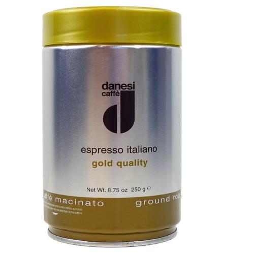 Danesi Gold ground tin by Italian Bean Delight