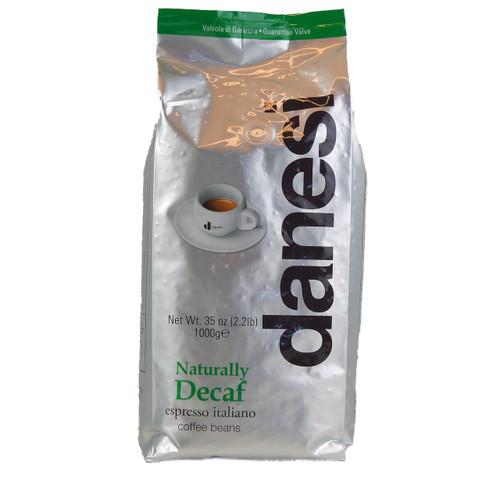 Danesi Caffe Decaf espresso coffee by Italian Bean Delight