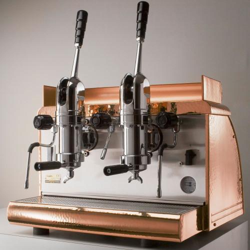 2-group Lever Espresso Coffee Machine Victoria Arduino Athena Copper