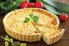Gobel Deep Quiche Pan with Removable Bottom, 8in