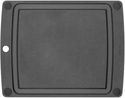 "AIO 11.5""x9"" Slate Button Carver w/black feet"