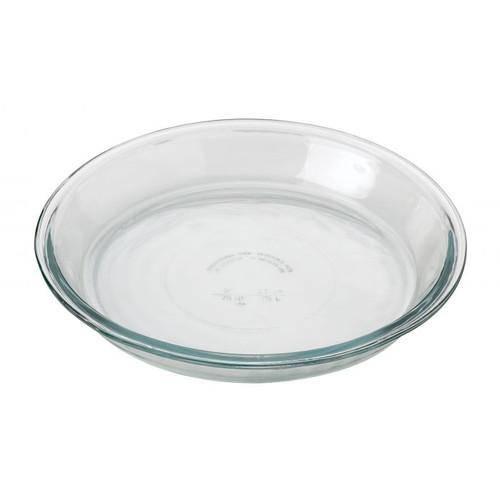 """9"""" Glass Pie Plate"""