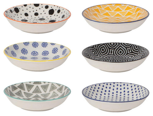 Bits & Dots Pinch Bowls - Set of 6