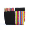 Black Vibrant Clutch  Sling Bag
