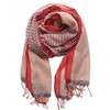 Veera - Ivory and Soft Red