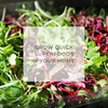 Microgreens Live Online Workshop