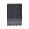 Charcoal unisex scarf