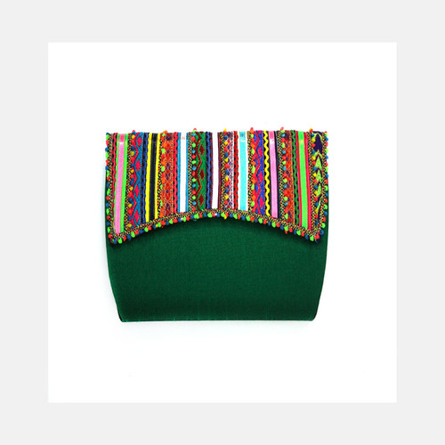 Emerald Green  Clutch Bag