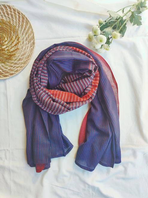Soft Purple Organic cotton scarf