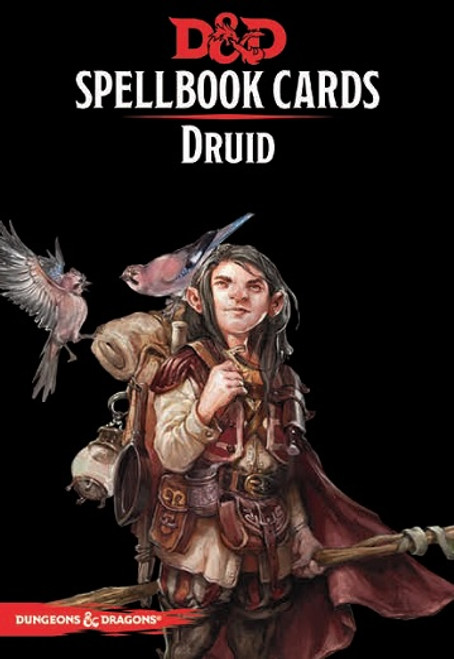 Dungeons and Dragons Spellbook Cards: Druid