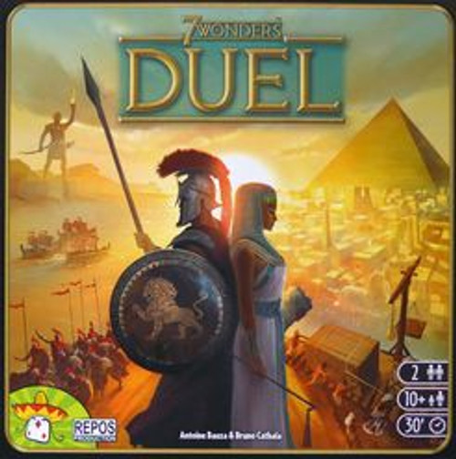 7 Wonders Duel Box Cover