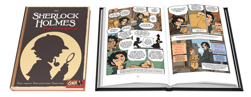 Graphic Novel Adventures: Sherlock Holmes Four Investigations