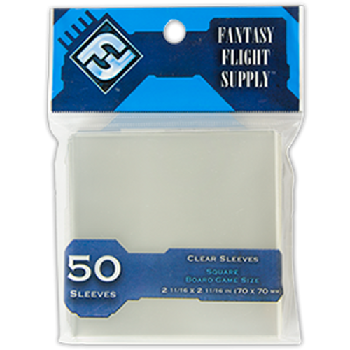 Card Sleeves: FFG: Square Board Game Clear: Code Blue