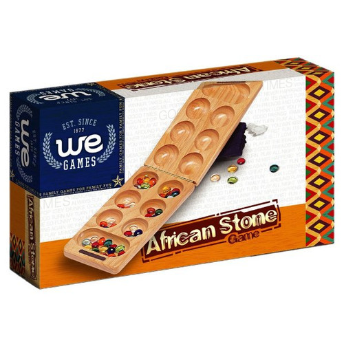 Mancala Travel Folding (African Stone Game)