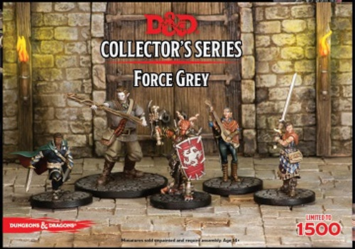 Dungeons and Dragons Force Grey Minis