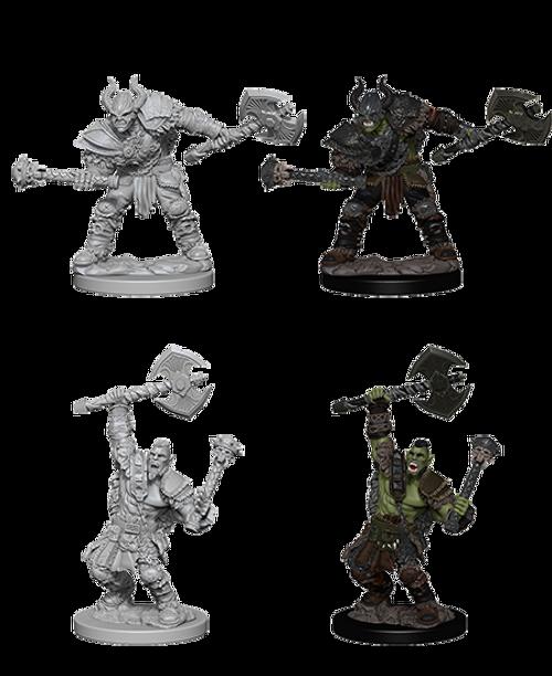 Mini Half-Orc Male Barbarian Pathfinder WV3