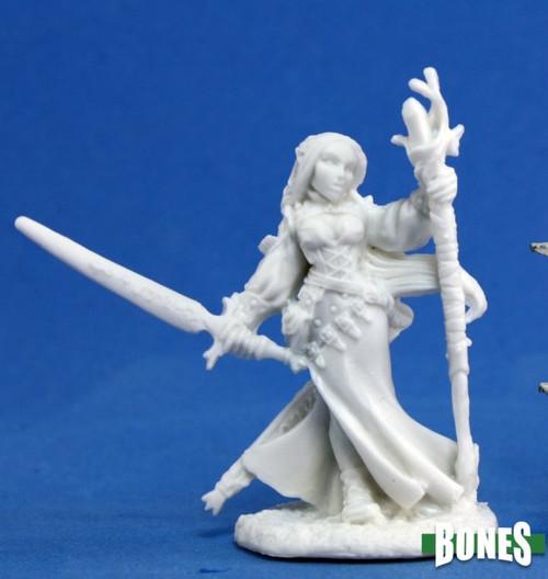 Reaper Bones 77076: Lysette Elf Wizard