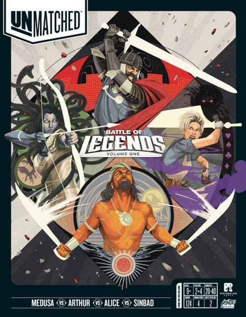 Unmatched: Battle of Legends Volume 1