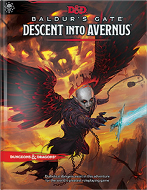 Dungeons and Dragons: Baldur's Gate Descent into Avernus Book