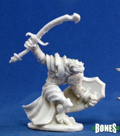 Reaper 77060: Dragonman Warrior