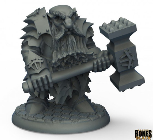 Reaper 44010: Dark Dwarf Pounder