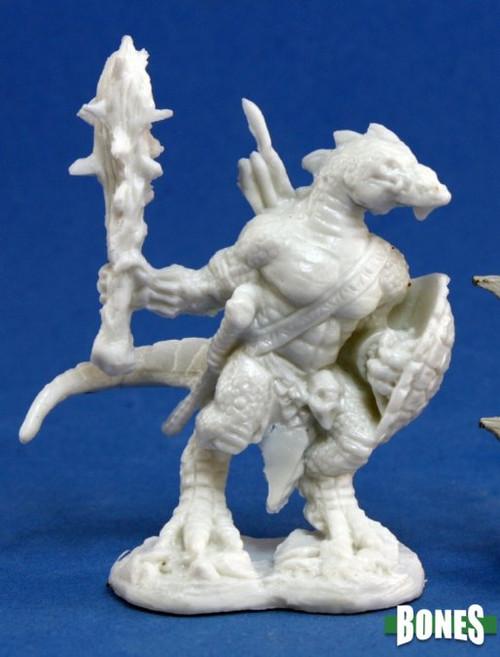 Reaper 77155: Lizardman Warrior