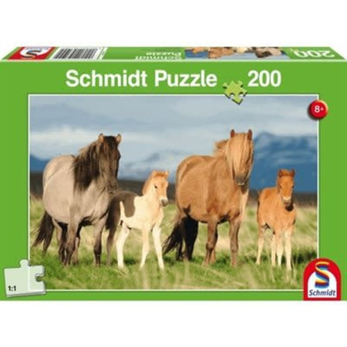 Puzzle: Child 200 Family of Horses