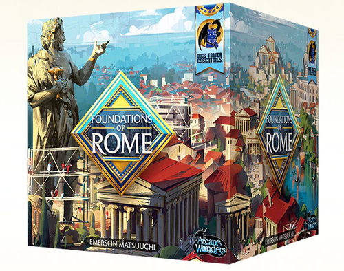 Foundations of Rome Senator Pledge Kickstarter Exclusive Pre-order