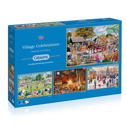Puzzle: 500 Village Celebrations (4 Puzzles)