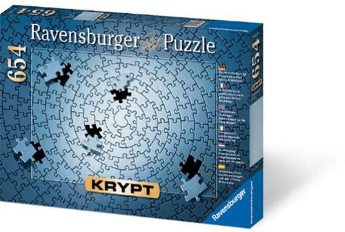 Puzzle: 654 Krypt All Silver
